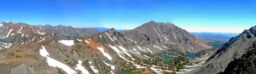 Black Cat Peak  northeast pano