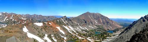 Black Cat Peak northeast pano