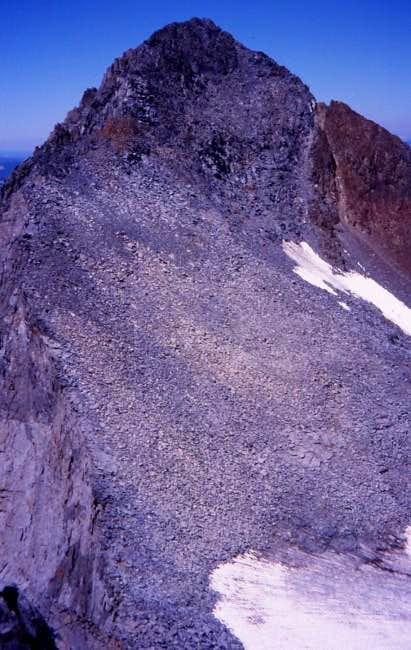 SE ridge of Maclure - August...