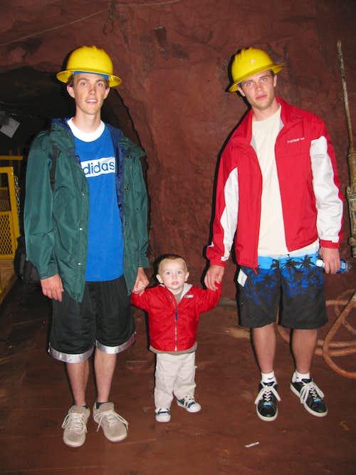 Matthew in the Mine