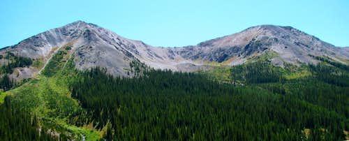 Peaks near Aspen