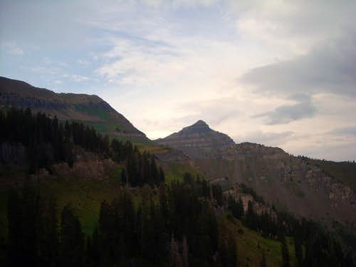 Bomber Peak and North Timp