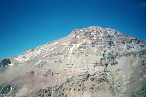 Aconcagua Summit from Bonete
