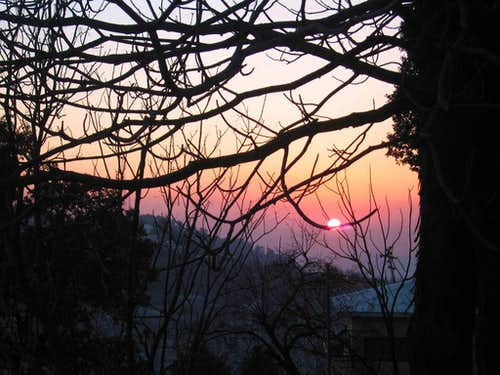 Sunset, Murree Hills, Pakistan