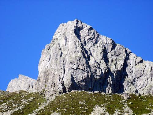 Bergseeschijen . SSE wall