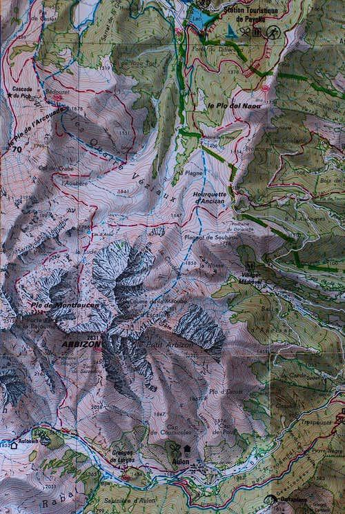 Arbizon map