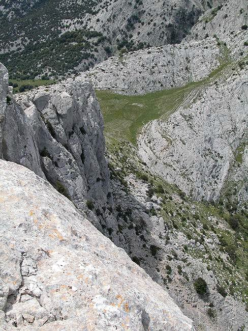 Normal Route  Via Scala di Sovena
