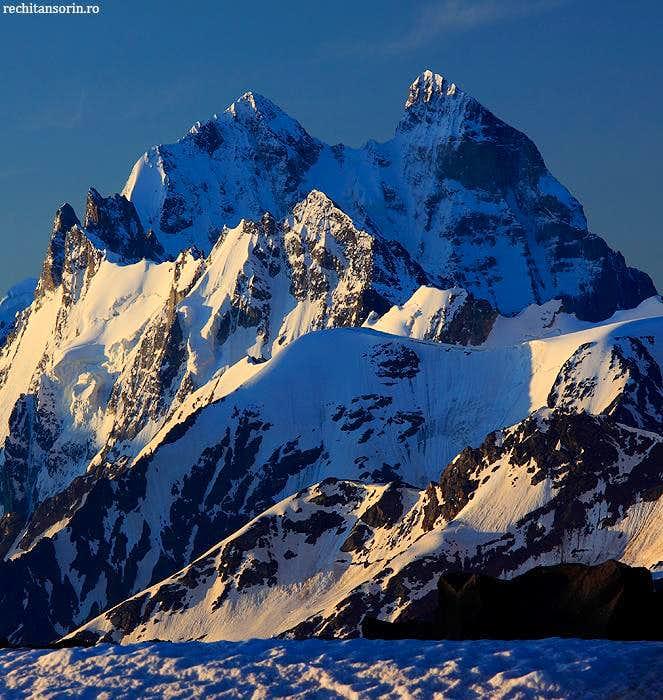 Ushba Peaks