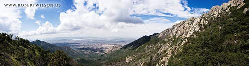 Madera Canyon Panorama