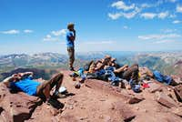 Perfect Day to Summit!