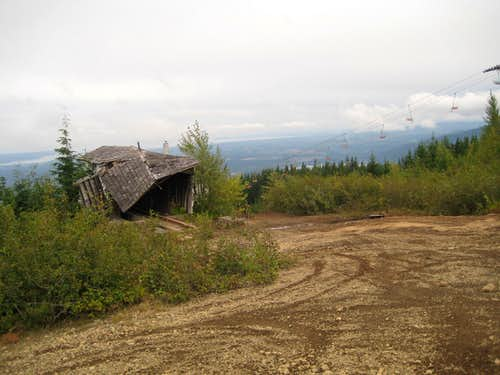Defunct Ski Hill on Wood Mountain