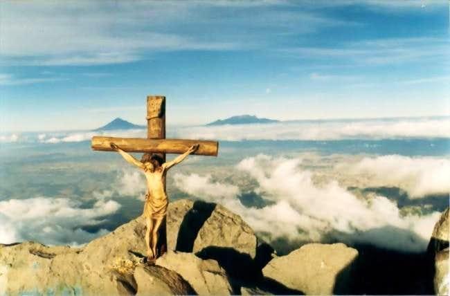 Summit of La Malinche. Popo...