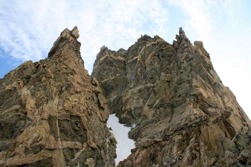 Turret Peak\'s West Ridge