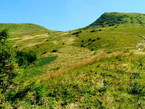 Siodlo Pass (1275 m)