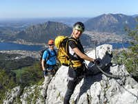 Ferrata Gamma 1 - Lake Como views