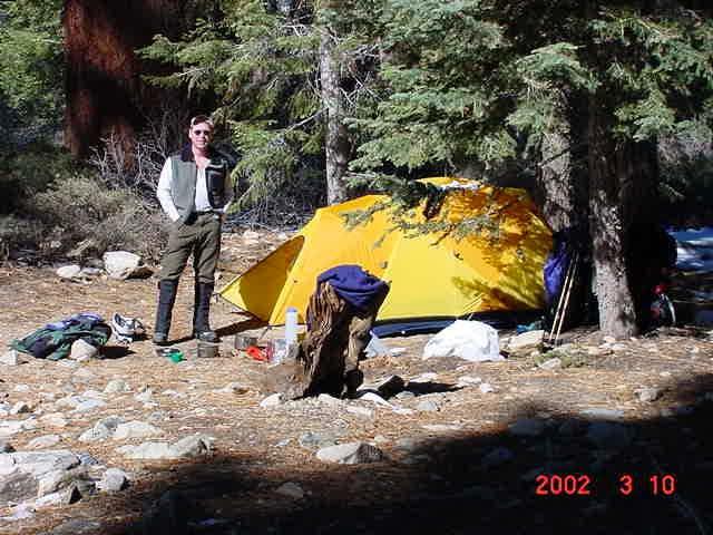 Sunday morning at Halfway camp.