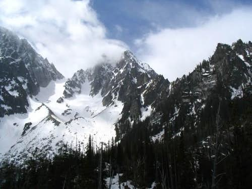 Colchuck Peak as seen from...