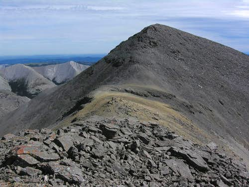 East summit from West