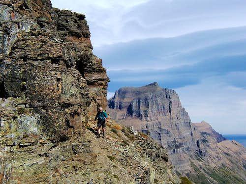 On Heavy Runner Mountain