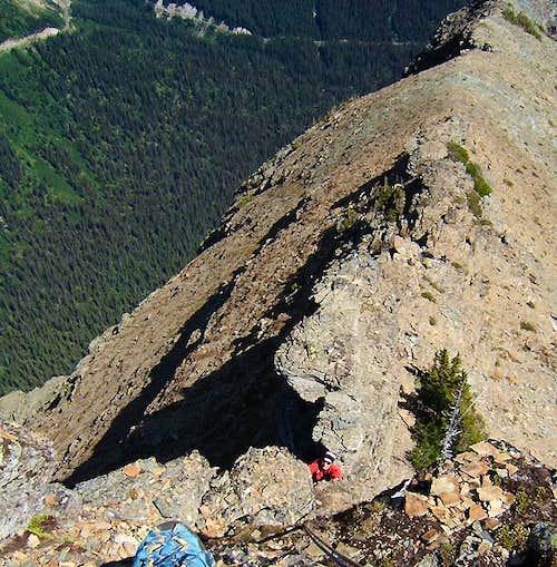 True Summit Tower, Heavy Runner Mountain