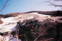 The 1999 Slide on Mt. Colden...