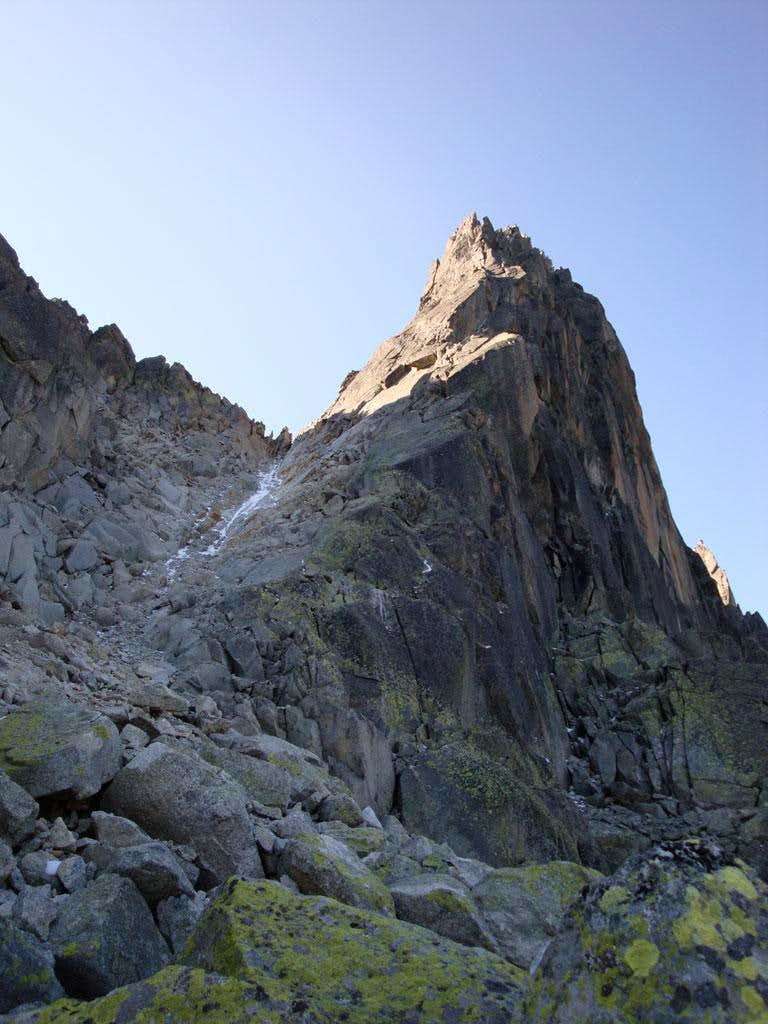 Aiguille de l'M NNE Ridge