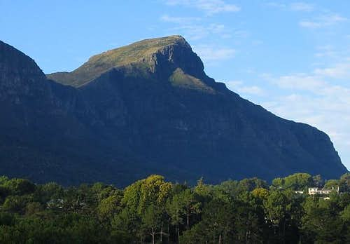 Devil's Peak from the south,...