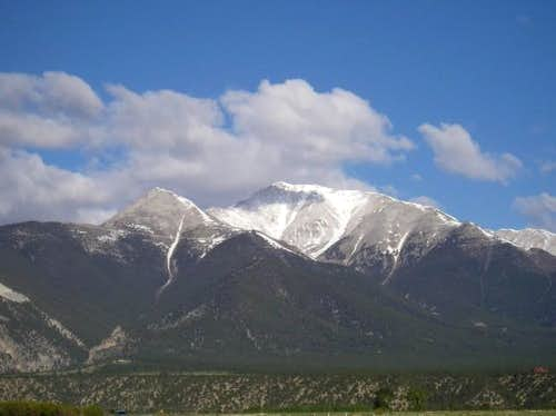 Mt. Princeton seen on...