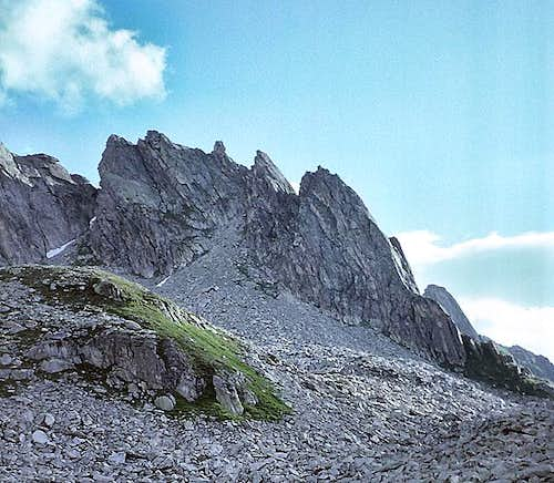 Hochschijen from the southwest