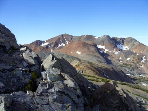 Excelsior Mountain seen from Peak 11568