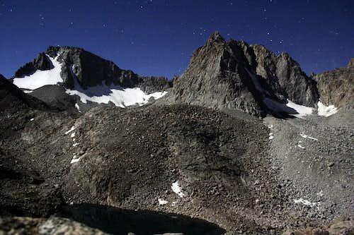 Mt Darwin and Mt Mendel