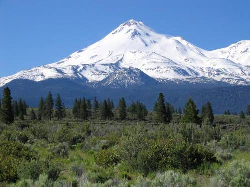 North side of Mt. Shasta from...