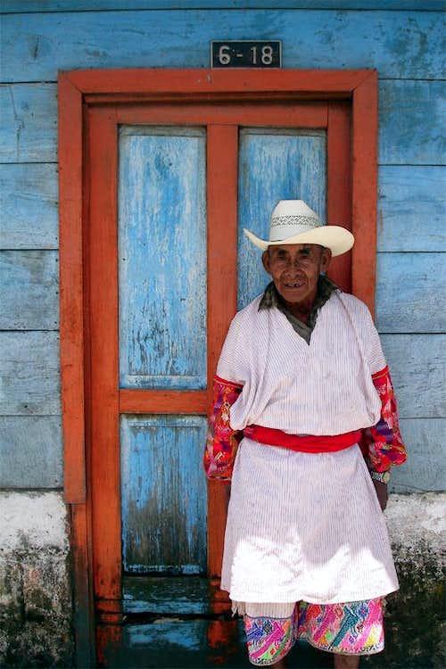 Traditional Traje, San Martín Sacatepéquez, Guatemala
