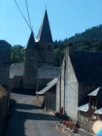 The village of Lançon