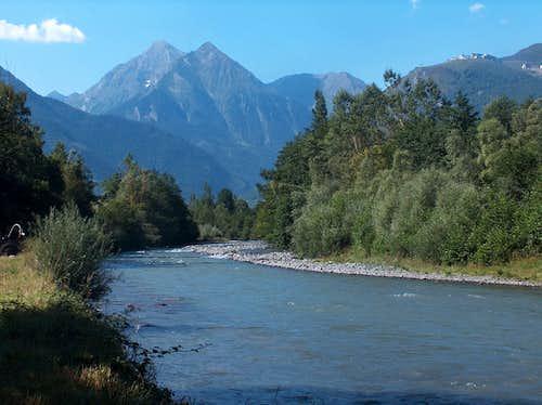 The Neste d'Aure river near Vielle Aure