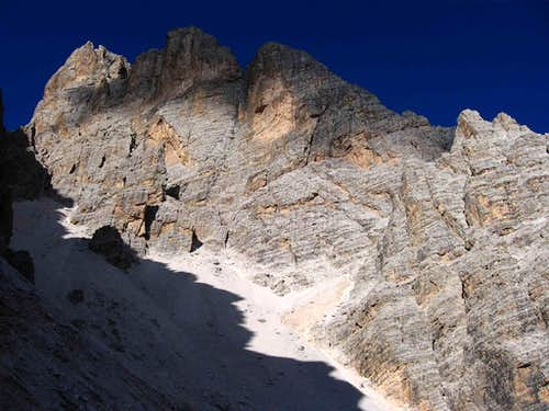 The Piz Popena 3152m