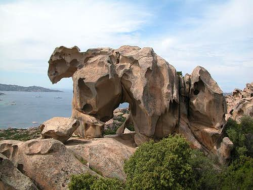 Sardinias landmark: the bear...