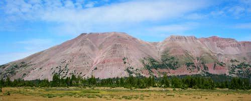 Northwest and North Blacks Fork Peaks