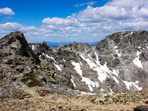 Ridge to North Arapaho