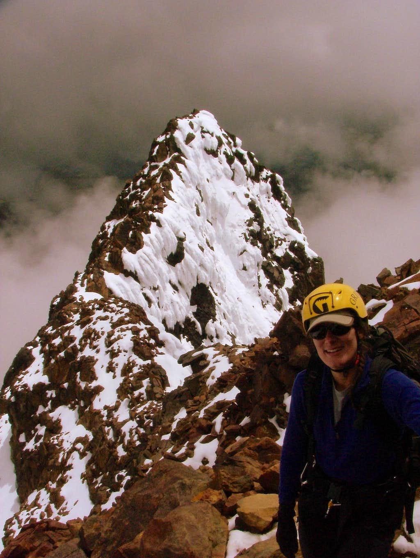 Climbing Illiniza Norte