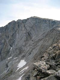 West face of Cloud Peak