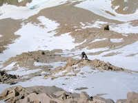 Climbing the North Slope of...