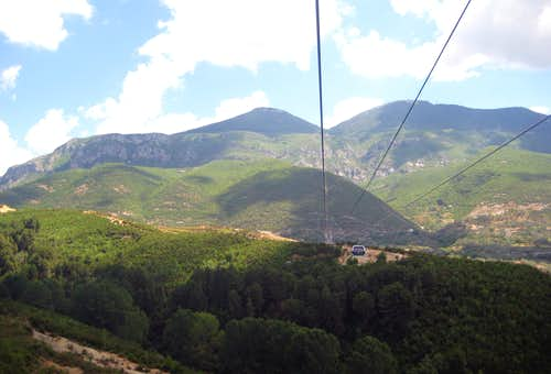 Mt. Daite and its new Gondola