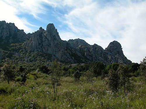 Punta Pelchia Manna (421m),...