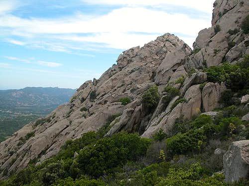 The northeast of Sardinia...