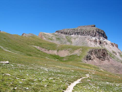 The Southeast Ridge of Uncompahgre