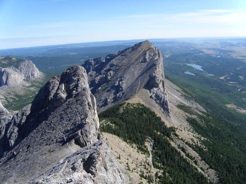 Yamnuska from Goat Traverse2
