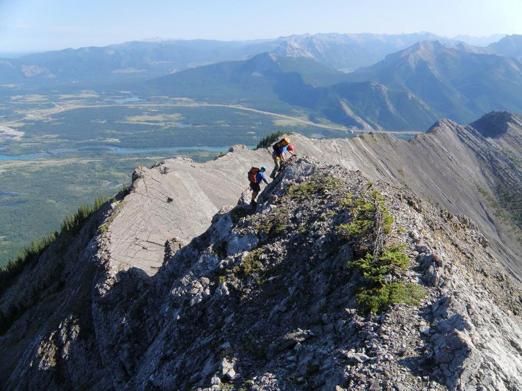 SE ridge of Unnamed-Goat Traverse, Kananaskis