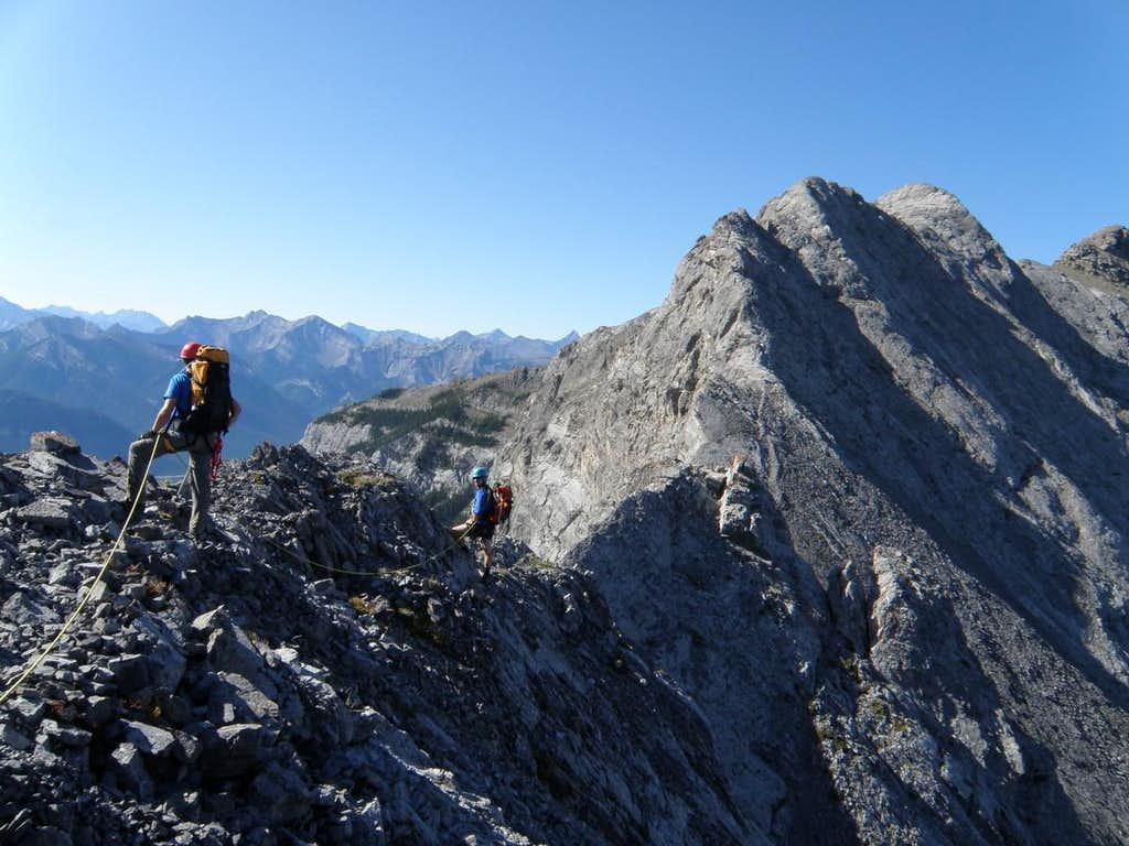 Between Peaks 1 and 2, Goat Travers