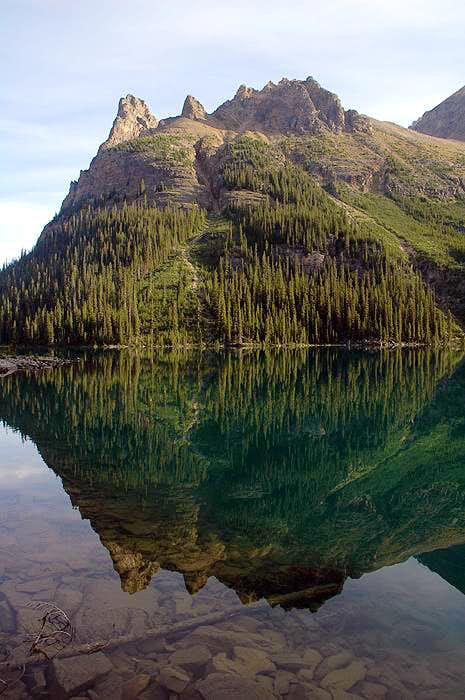 Wiwaxy Peaks Reflection